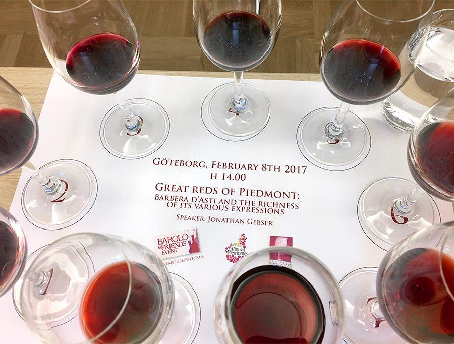 Intressant med viner från Piemonte